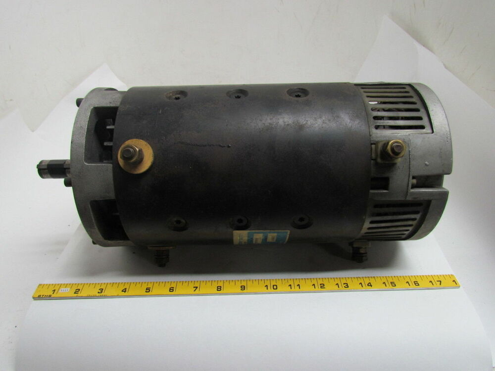 Prestolite mty4001ru 36 v dc electric drive raymond for Electric motors and drives