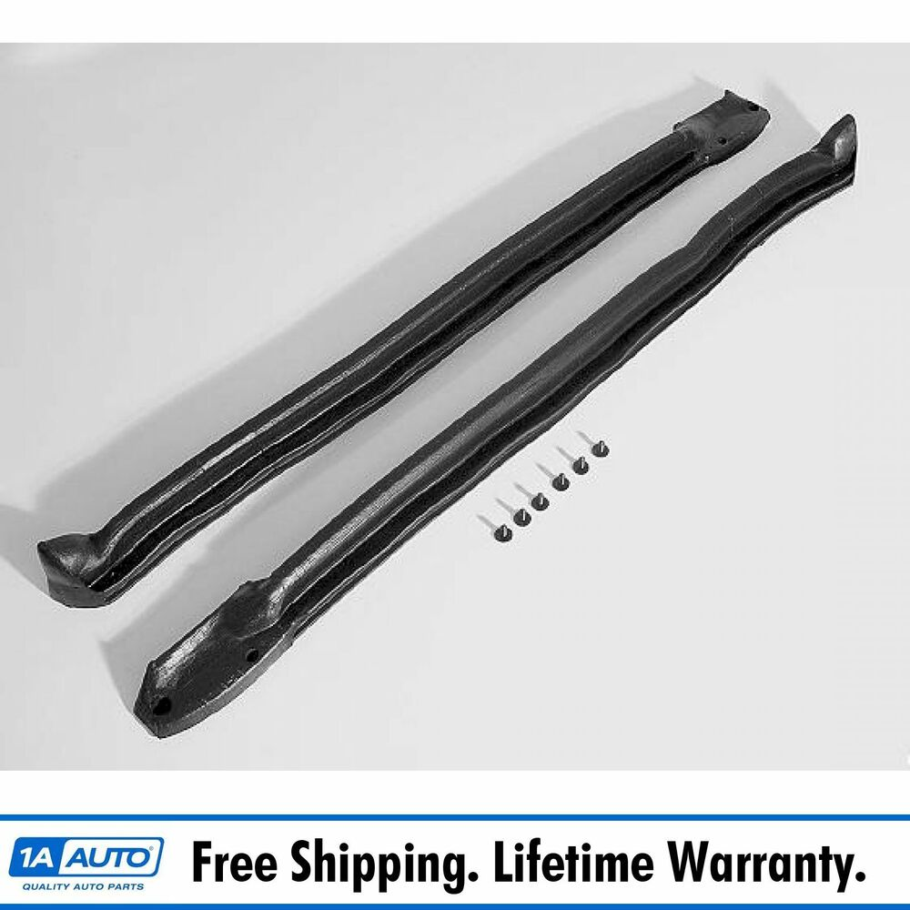 Window Rubber Seals For Autos : Windshield pillar weatherstrip seals rubber for buick