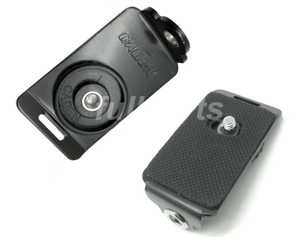 Quot slr camera adapter quick release plate for black