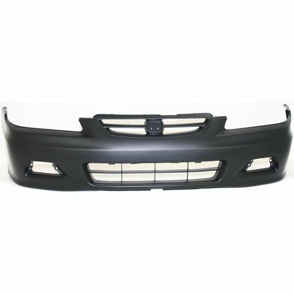 front bumper cover for 2001 2002 honda accord coupe w fog. Black Bedroom Furniture Sets. Home Design Ideas