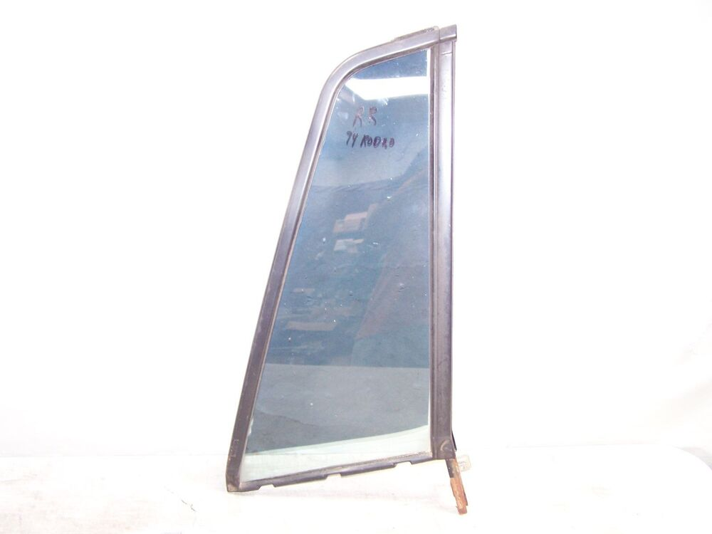 1994 isuzu rodeo window right rear door vent window glass for Glass back door