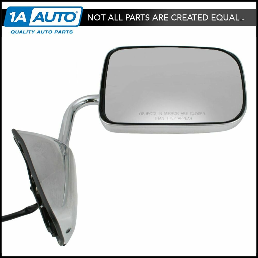 Chrome Folding Power Door Mirror Right Passenger Side For