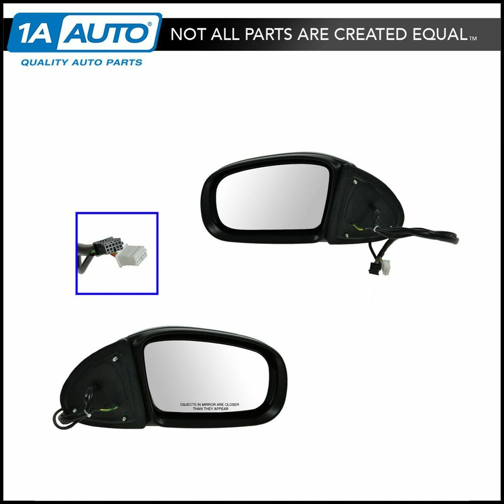 Mirrors side view power heated folding signal lh rh pair for Mercedes benz side mirror turn signal