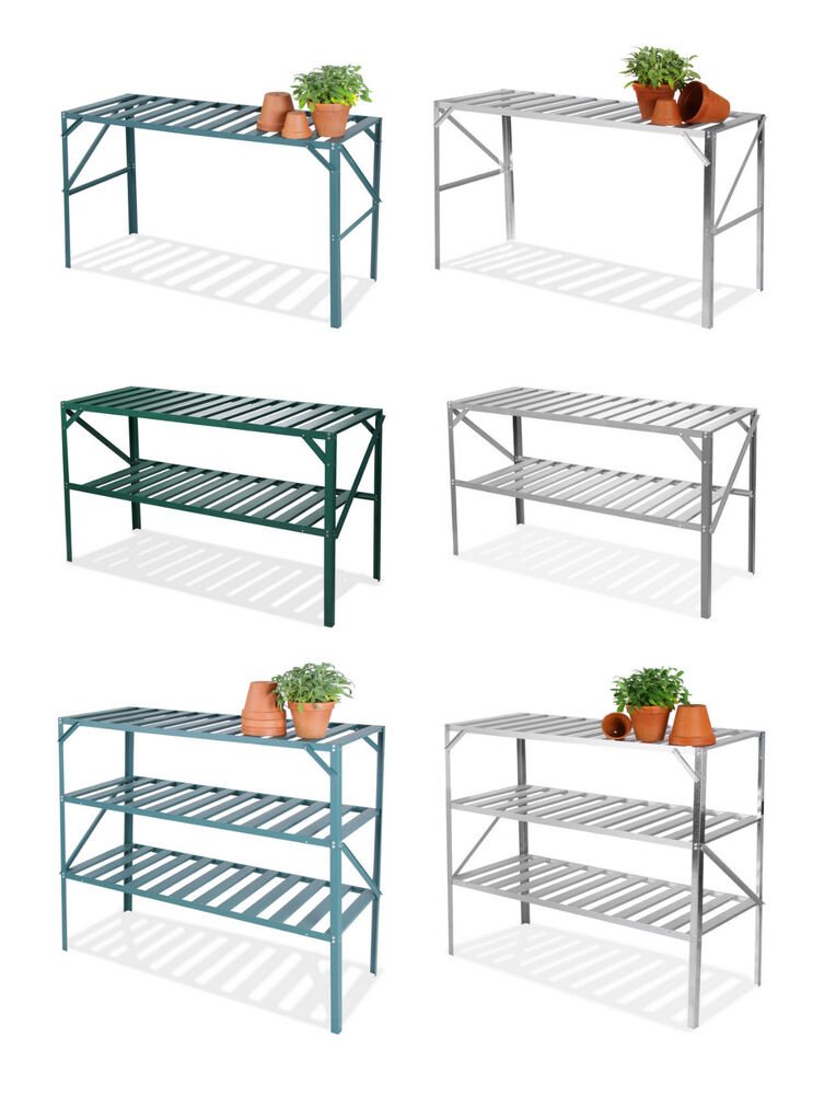 Lacewing greenhouse staging shelving shelves bench for Materials to make a greenhouse