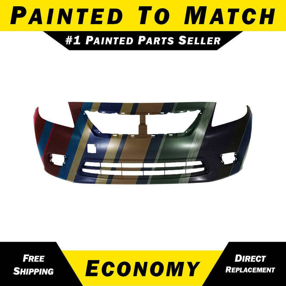 New Painted To Match Front Bumper Cover For 2012 2013