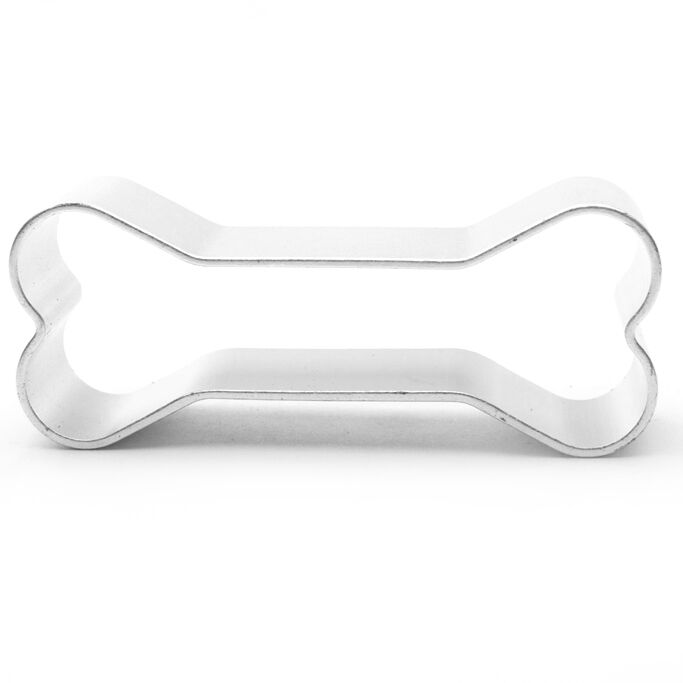 Bone Square Shaped Cookie Cutter Bake Cook Baking Home