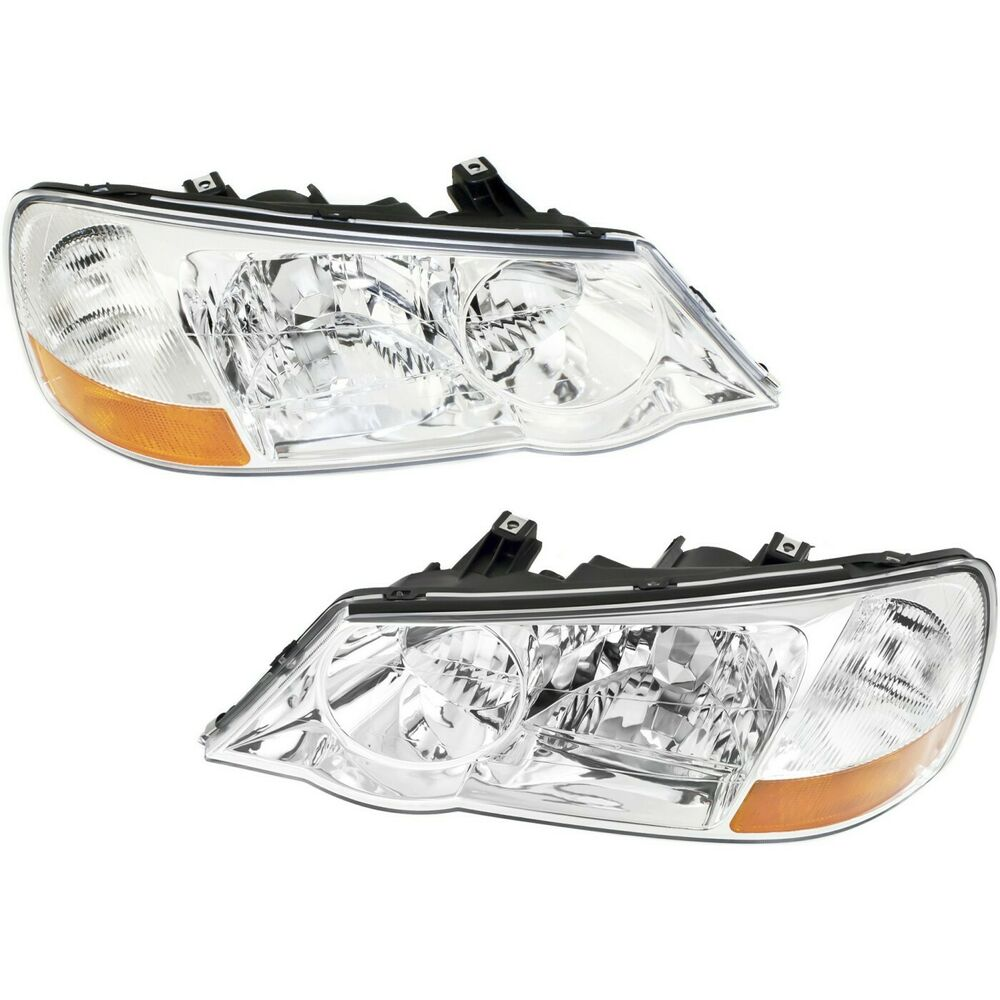 HID Headlight Set For 2002-2003 Acura TL Driver And