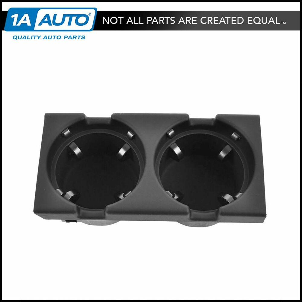 Center Console Mounted Dual Replacement Cup Holder For Bmw