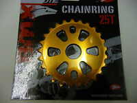 New Coyote BMX Alloy Sprocket / Chainwheel 25T - 5mm COLOUR ORANGE