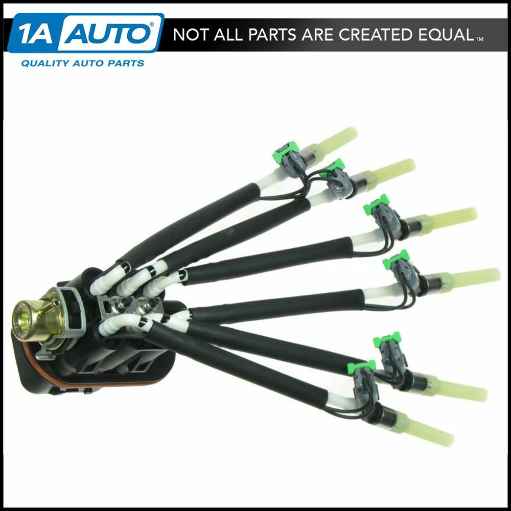 Central Port Fuel Spyder Injector Injection Assembly For
