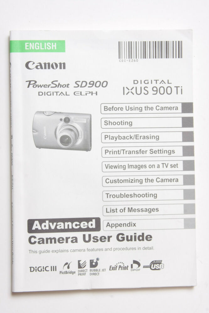 canon digital ixus 82 is manual
