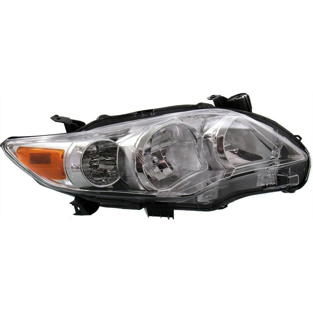Toyota Truck Aftermarket Parts: Headlight For 2011-2013 Toyota Corolla Passenger Side