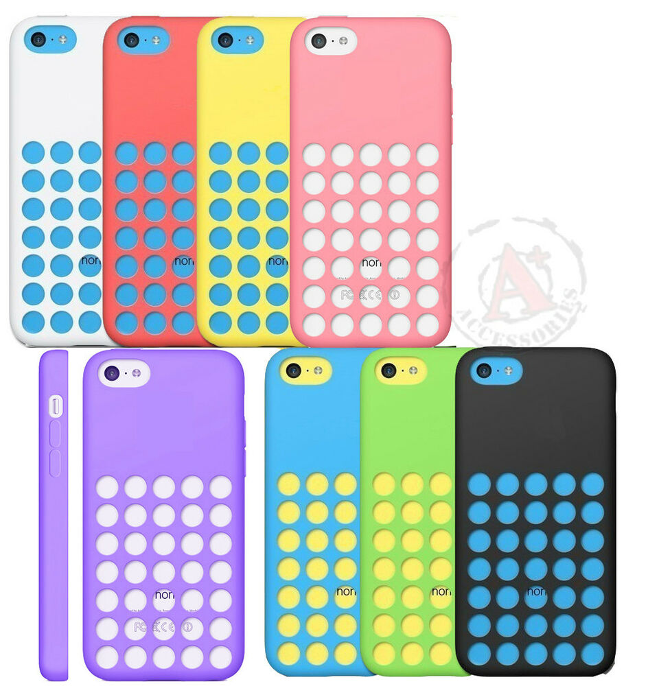 phone case for iphone 5c for apple iphone 5c slim dotted rubber silicone soft gel 1131