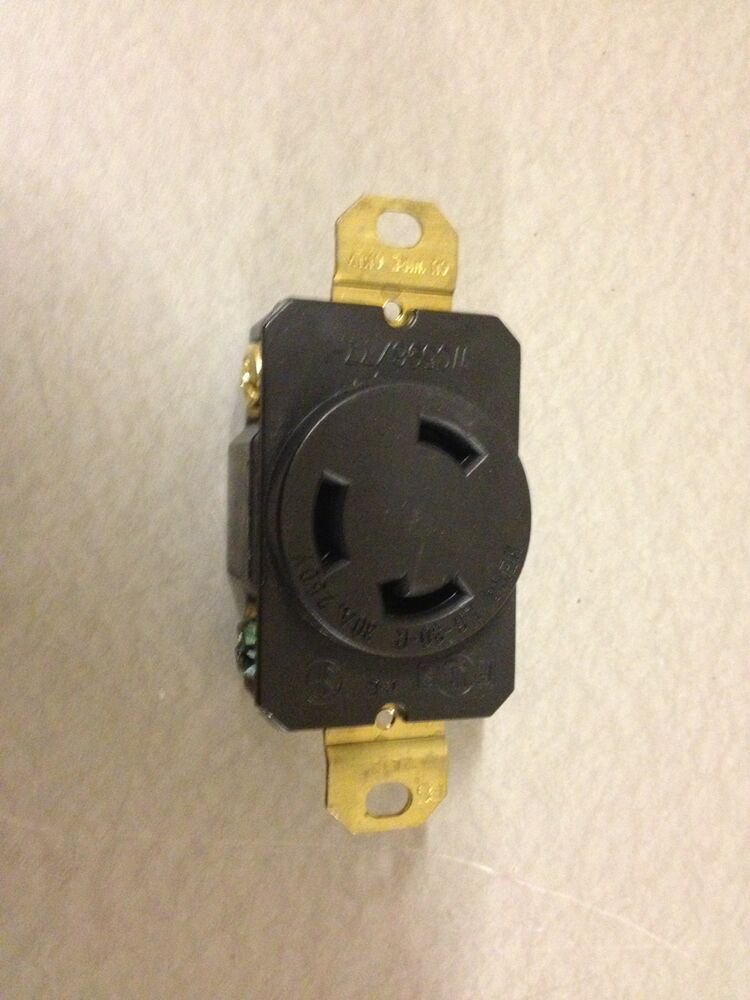 NEW L6-30R turnlok amp 30 3 wire Receptacle 30A 250V 240v ...