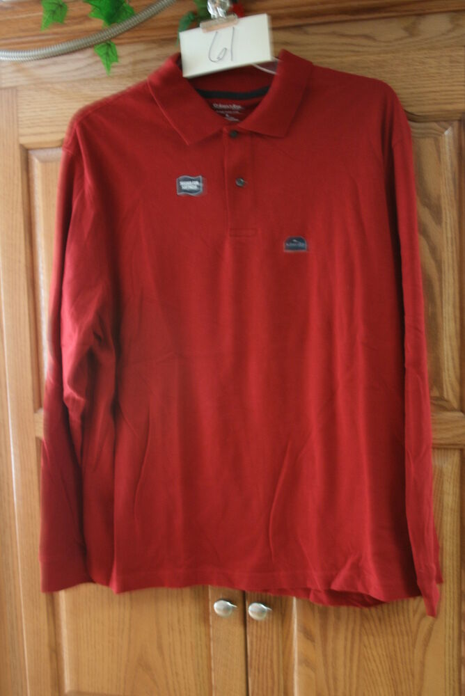 new mens st johns bay sueded rustic sleeve polo