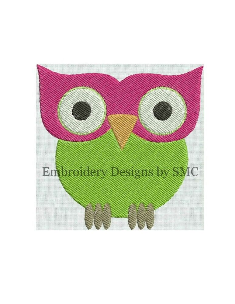 Machine embroidery designs applique owl branch sale price