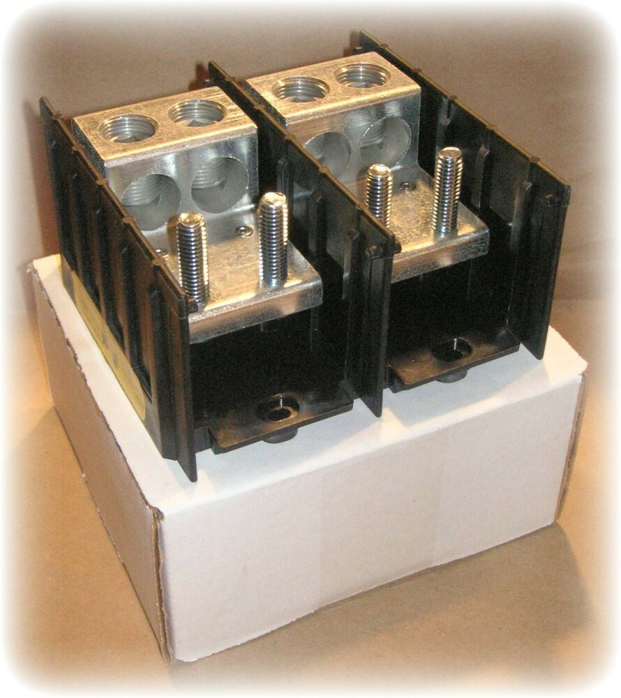 Barrier Terminal Power Distribution Block 2p 175a