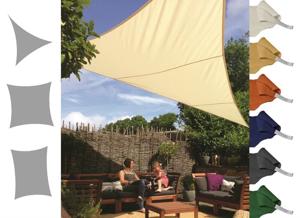 Kookaburra shade sail water resistant sun canopy patio for Colorado shade sail