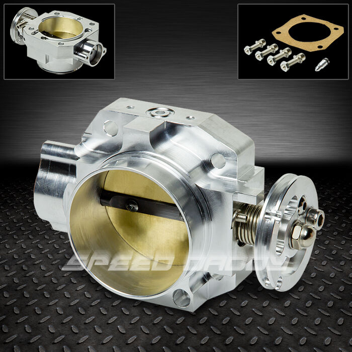 70MM BOLTON ALUMINUM INTAKE MANIFOLD THROTTLE BODY HONDA