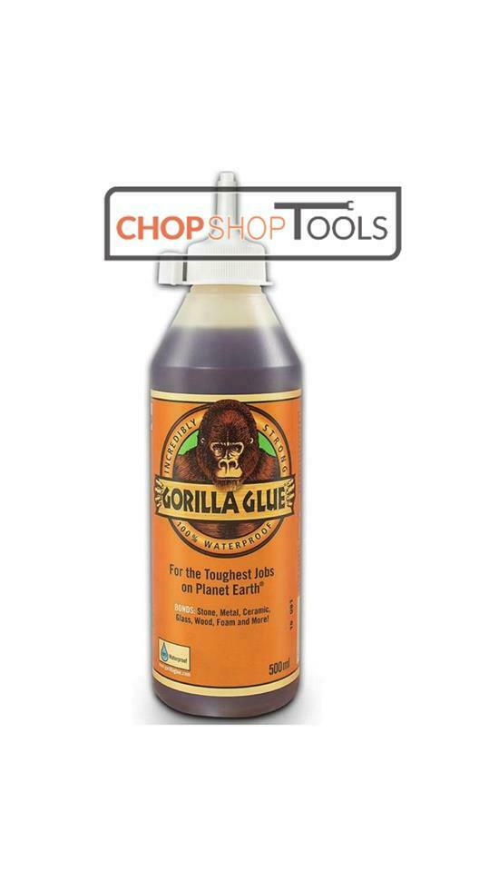 Best Glue For Stone : Gorilla glue ml super waterproof wood stone metal