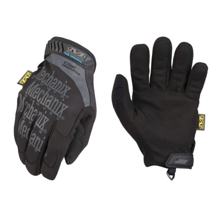 img-Mechanix Tactical Original  New Style Insulated Gloves Covert Black Cold Weather