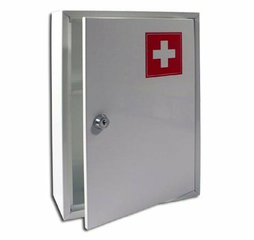 New Medical Cabinet First Aid Wall Mounted Medicine Kit