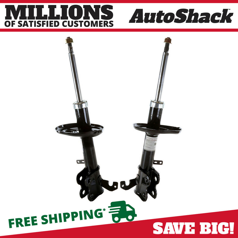 Toyota Celica 1995 Bare Strut: New Front Left & Right Bare Strut Pair Fits Chevy Prizm
