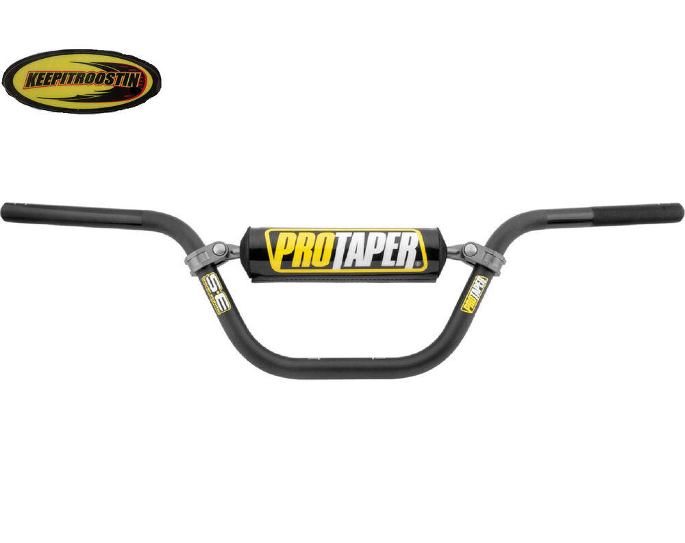 dirt bike handlebars bars black fits honda crf xr 50 2000
