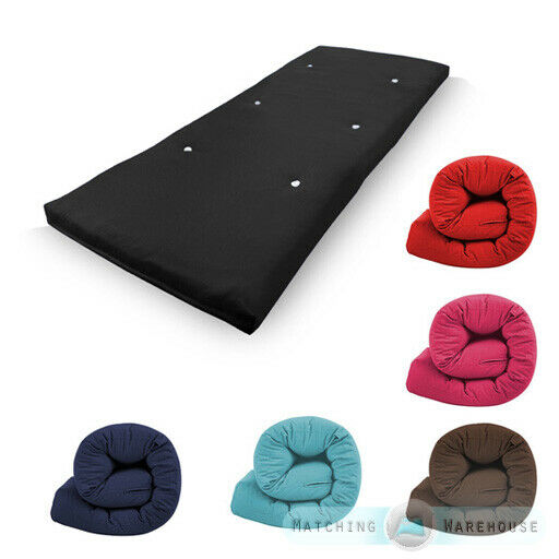 Cotton Single Bed Futon Sofabed Replacement Mattress Sofa
