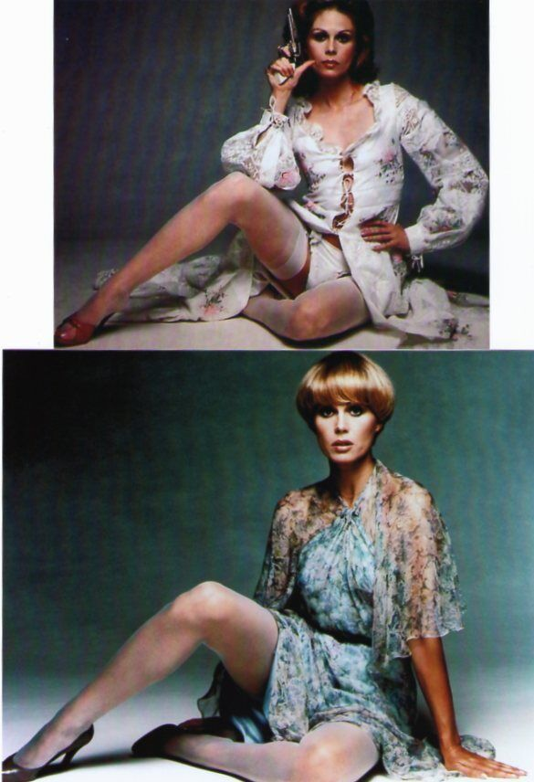 THE NEW AVENGERS : JOANNA LUMLEY as PURDEY : 2 LEGGY ...