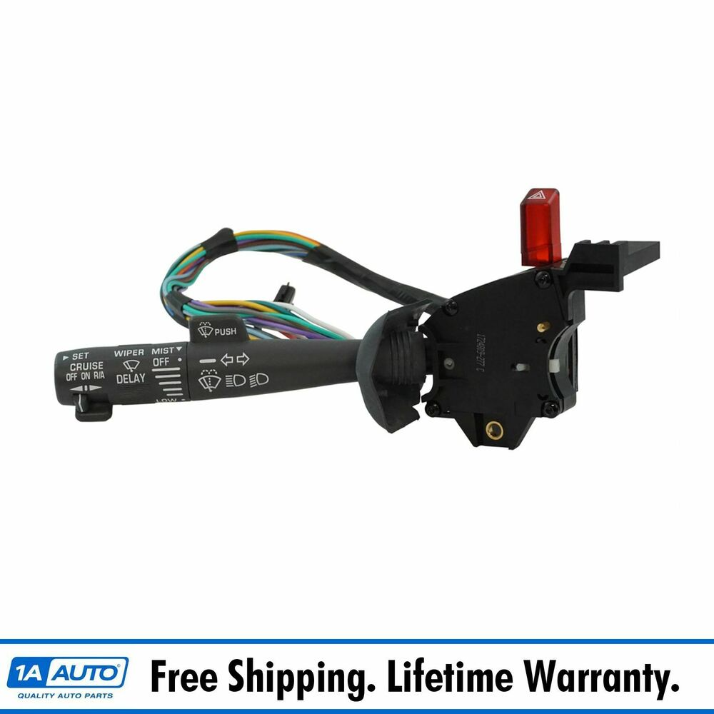 Cruise Control Windshield Wiper Arm Turn Signal Lever Switch For International Wiring Diagram Free Picture Chevy Gmc Truck 191213376713 Ebay