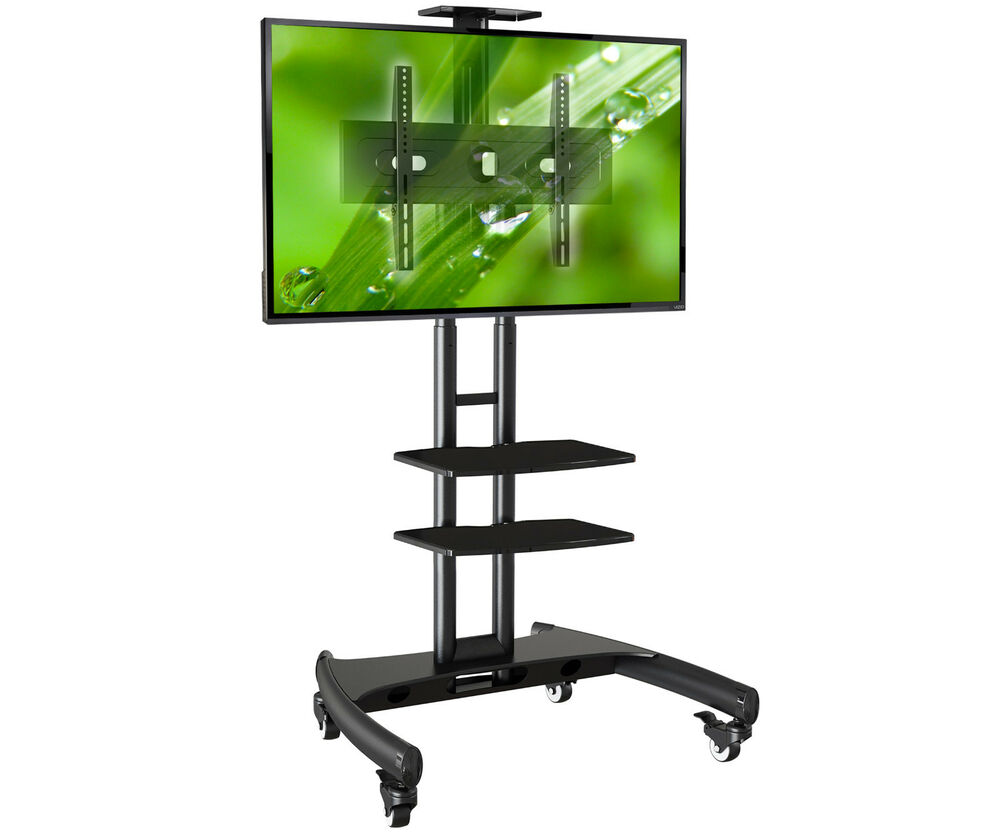 standfu st nder trolley f r fernseher tv 32 65 kamera 2x av ablagen ava1500tp ebay. Black Bedroom Furniture Sets. Home Design Ideas