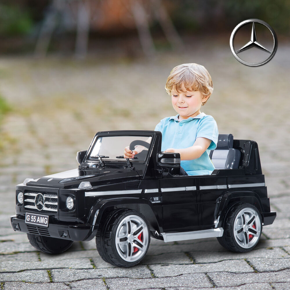 Mercedes benz kids 12v electric ride on car truck power for Mercedes benz toddler car