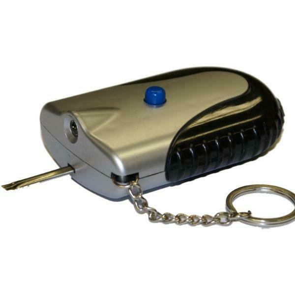 Car Heated Lock De Icer And Key Chain Led Light No More