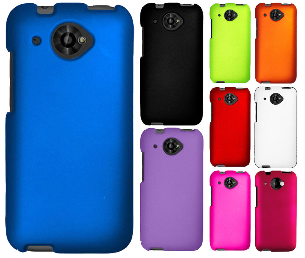For Virgin Mobile HTC Desire 601 Rubberized HARD Protector ...