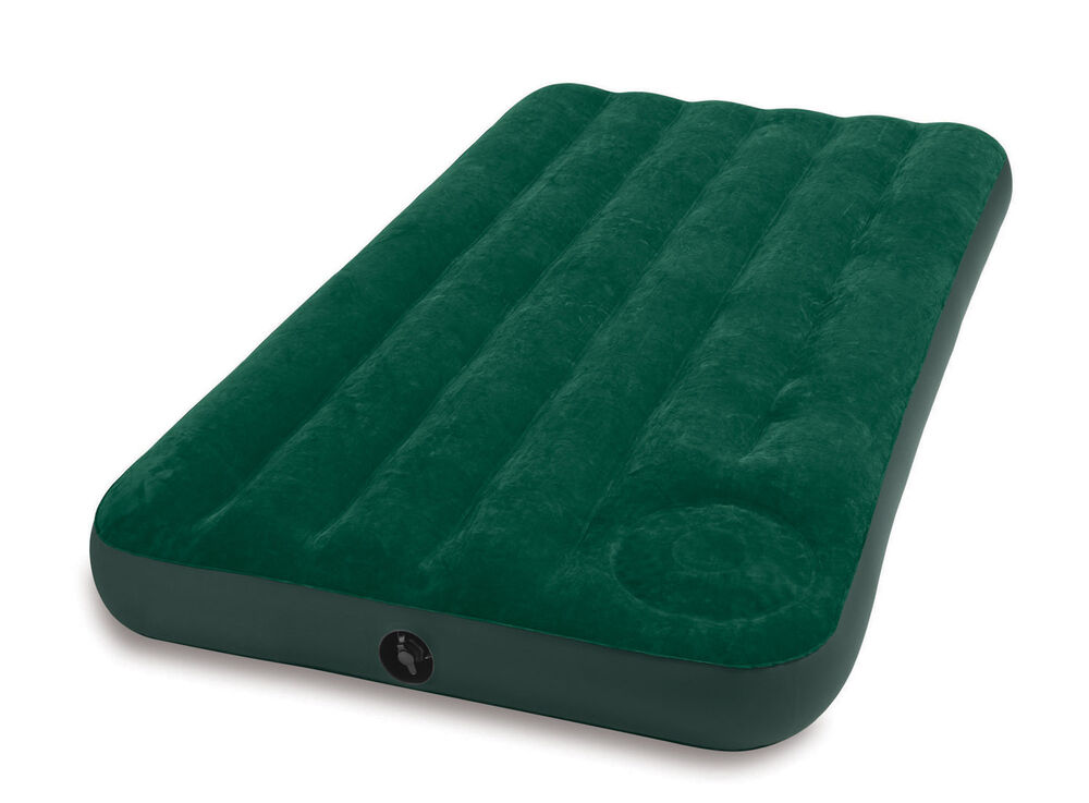intex twin air bed outdoor camping downy inflatable. Black Bedroom Furniture Sets. Home Design Ideas
