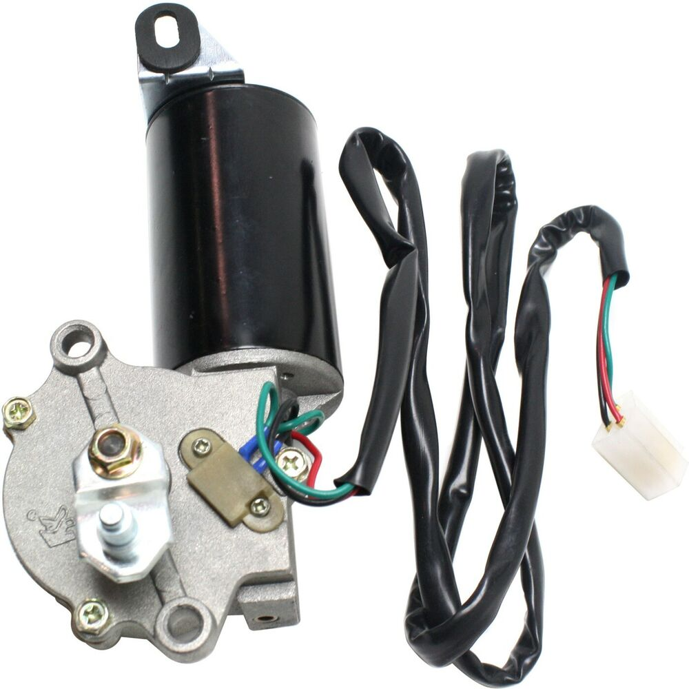New Windshield Wiper Motor Front Jeep Cj7 Cj5 Scrambler