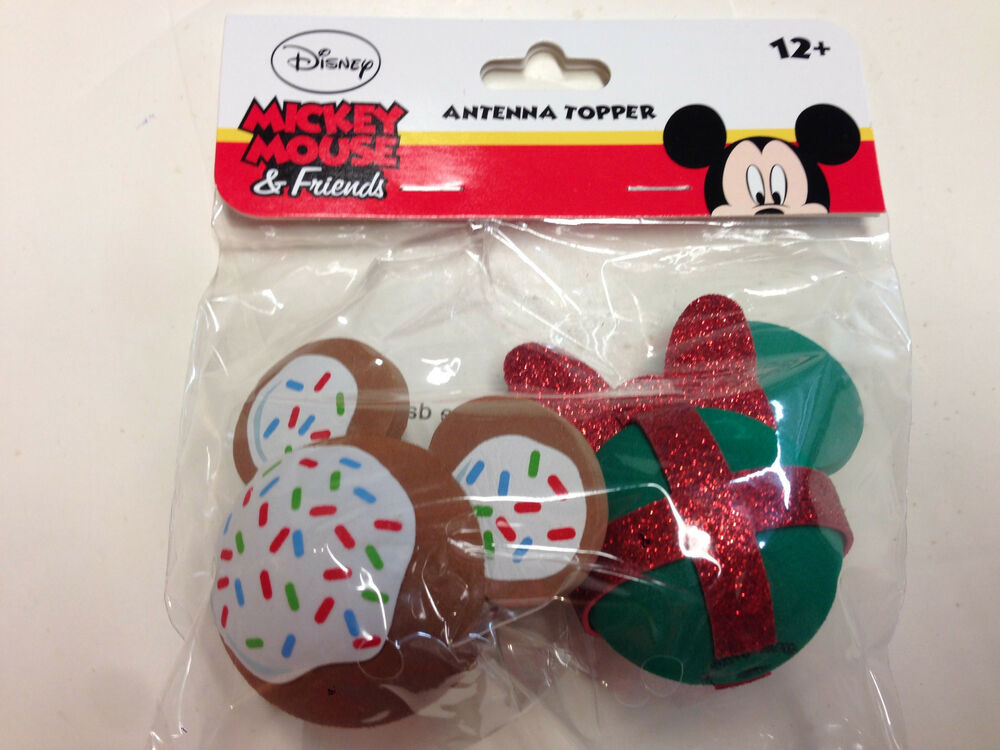Disney, Mickey Mouse Cookie And Minnie Mouse Christmas