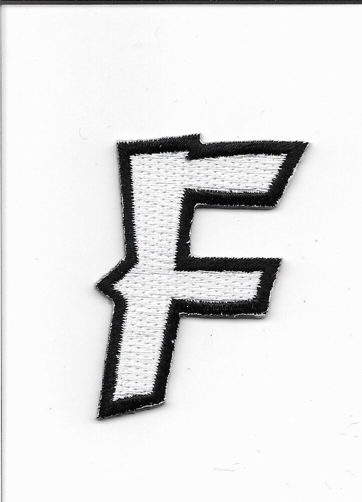embroidered letter patches letter f embroidered iron on alphabet patch wx0019f ebay 21477