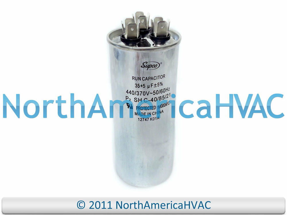 s l1000 new motor round dual run capacitor 35 5 uf mfd 440 volt packard  at suagrazia.org