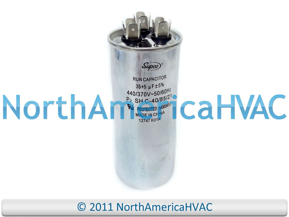 s l1000 new motor round dual run capacitor 35 5 uf mfd 440 volt packard  at mifinder.co