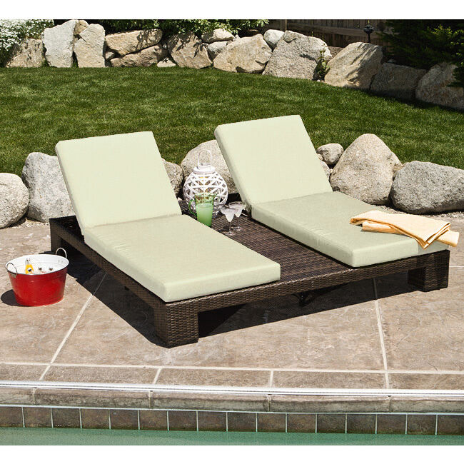 Palms Double Chaise Lounge EBay