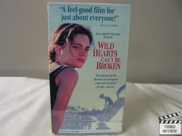 Where Can I Sell My Vhs Tapes >> Wild Hearts Can't Be Broken VHS Gabrielle Anwar, Michael ...