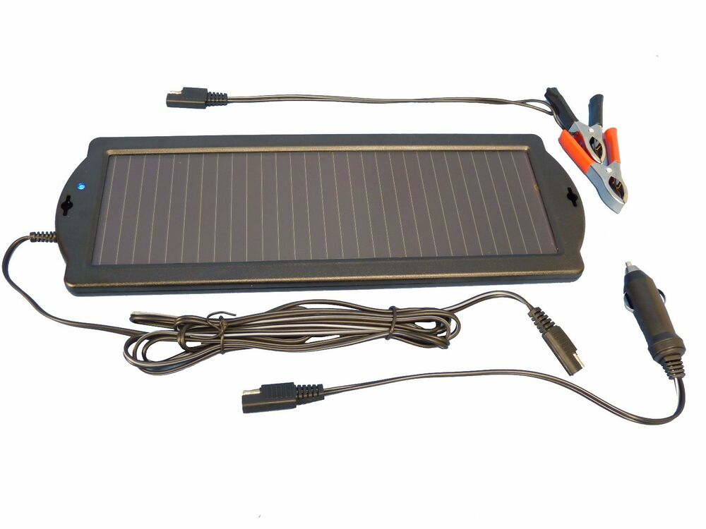 Solar panel 12v ipo charger
