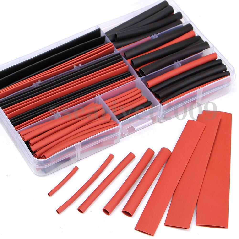 new 150pcs 2 1 polyolefin heat shrink tubing tube sleeving. Black Bedroom Furniture Sets. Home Design Ideas