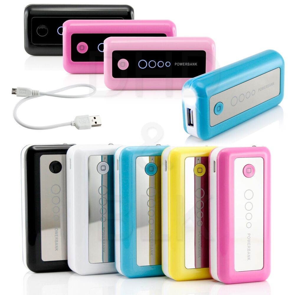 5600mah portable external battery usb charger power bank. Black Bedroom Furniture Sets. Home Design Ideas