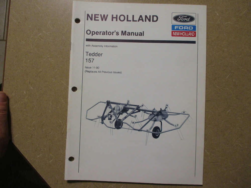 New Holland 848 Owners Manual