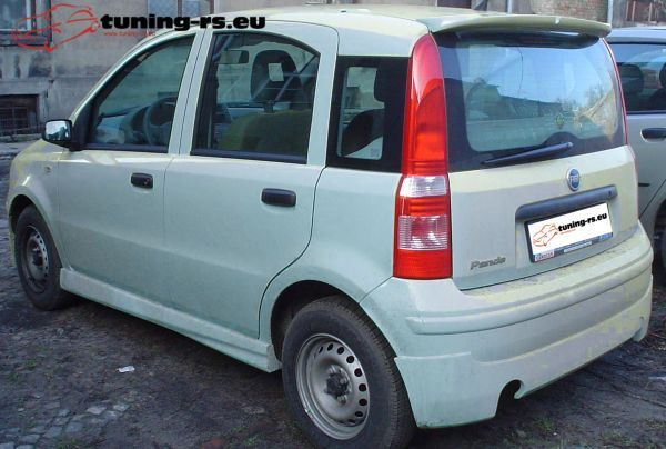 fiat panda rear roof spoiler tuning ebay. Black Bedroom Furniture Sets. Home Design Ideas