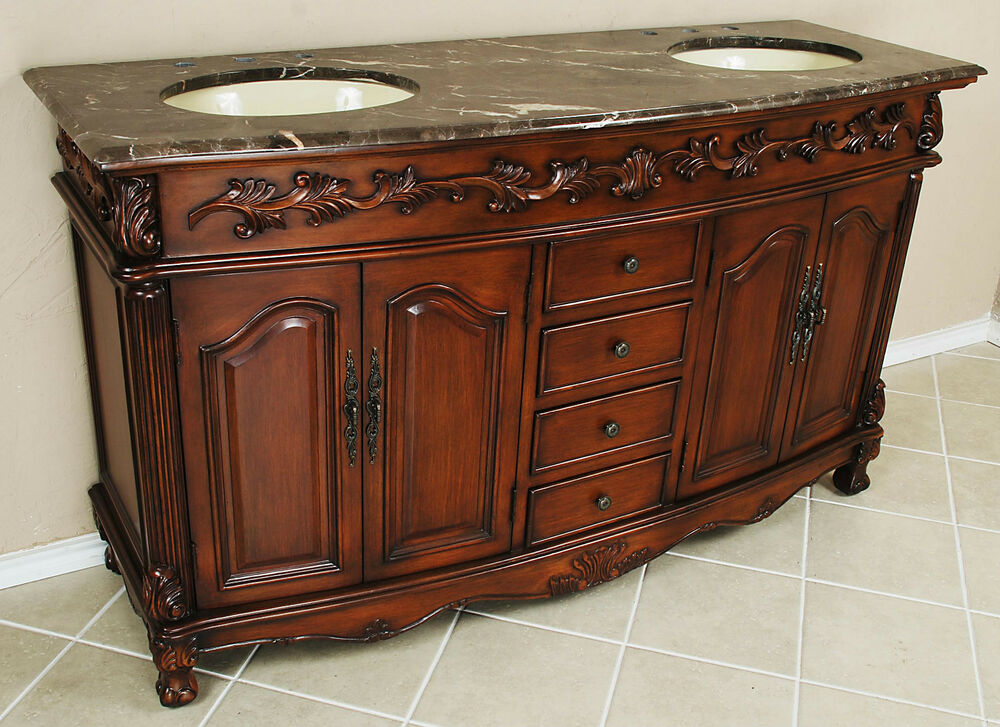 bathroom double vanity cabinets 5 3 drawer chest bathroom vanity sink cabinet ebay 15799