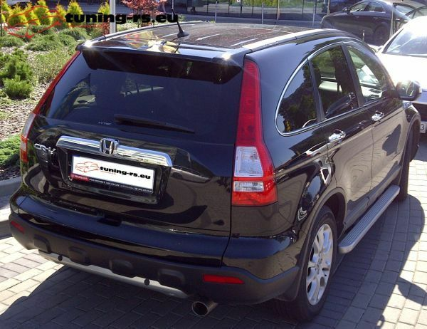 honda cr v rear roof spoiler honda crv mk3 tuning ebay. Black Bedroom Furniture Sets. Home Design Ideas